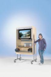 Just Schulbedarf Flat Tv Wagen Ftvr 120 Tv Schrank