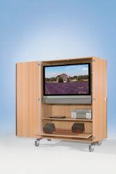 Just Schulbedarf Flat Tv Wagen Ftv 220 Rg Tv Schrank Flatscreen