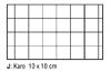 Karo 10 x 10 cm